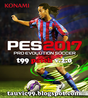 Patch PES 2017 Terbaru dari t99 V2 Live Update