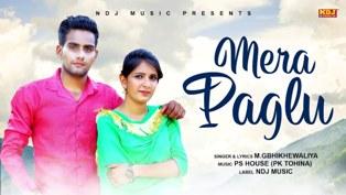 Mera Paglu Lyrics - M.G Bhikhewaliya