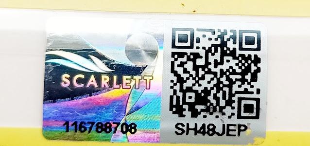 stiker hologram