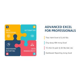 Khóa Học Combo 4 Excel for Professionals ebook PDF-EPUB-AWZ3-PRC-MOBI
