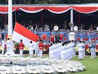 Upacara HUT RI Ke 74 Di Istana Merdeka