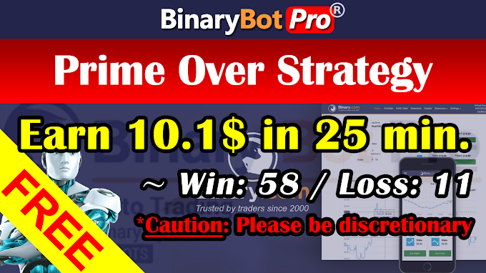 Prime Over Strategy (7-Jan-2021)   Binary Bot   Free Download