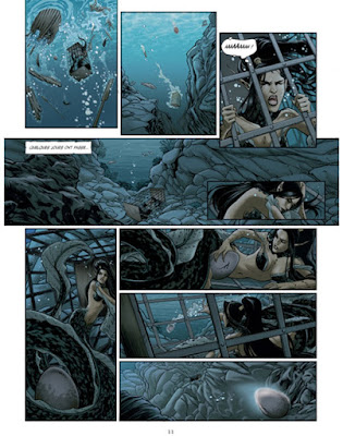 Sorcières & Vikings T3 - La sirène pond un oeuf, le futur triton nommé Gildwin