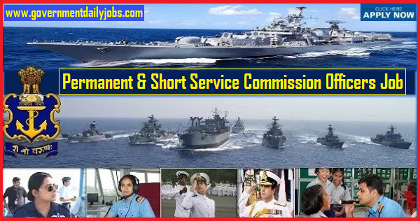 Indian Navy Recruitment 2019 latest 121 PC & SSC Posts | Apply Online Here