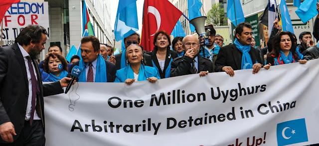 PBB Desak China Bebaskan Hampir Sejuta Warga Uighur