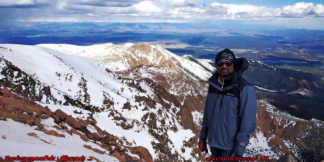 Pikes Peak Summit View