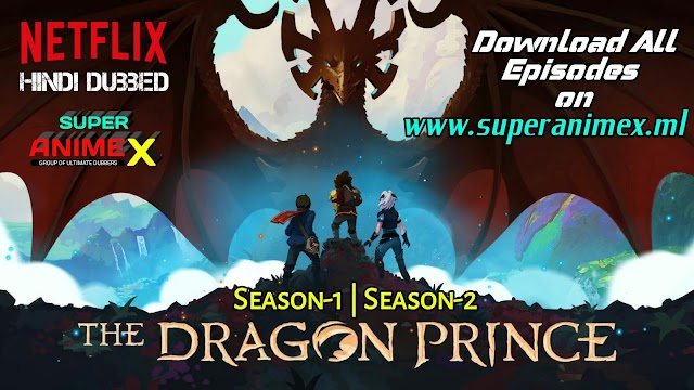 The Dragon Prince S1+S2 HINDI Dubbed