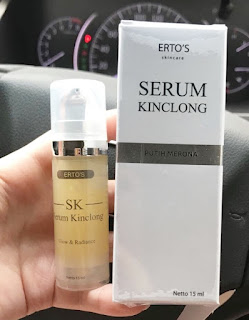 Serum Wajah Kinclong ERTOS Original Tarrie Shop