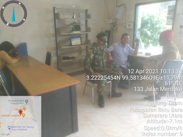 Peran Aktif Personel Jajaran Kodim 0208/Asahan Laksanakan Komsos Bersama Warga Desa Binaan
