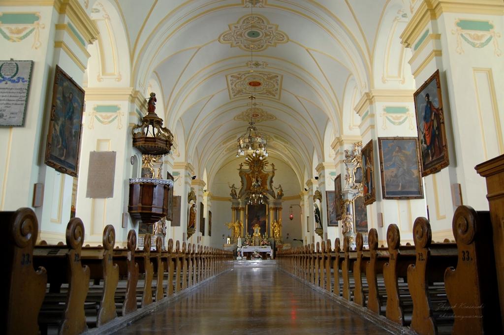 Kościół farny pw. św. Macieja Apostoła w Bisztynku