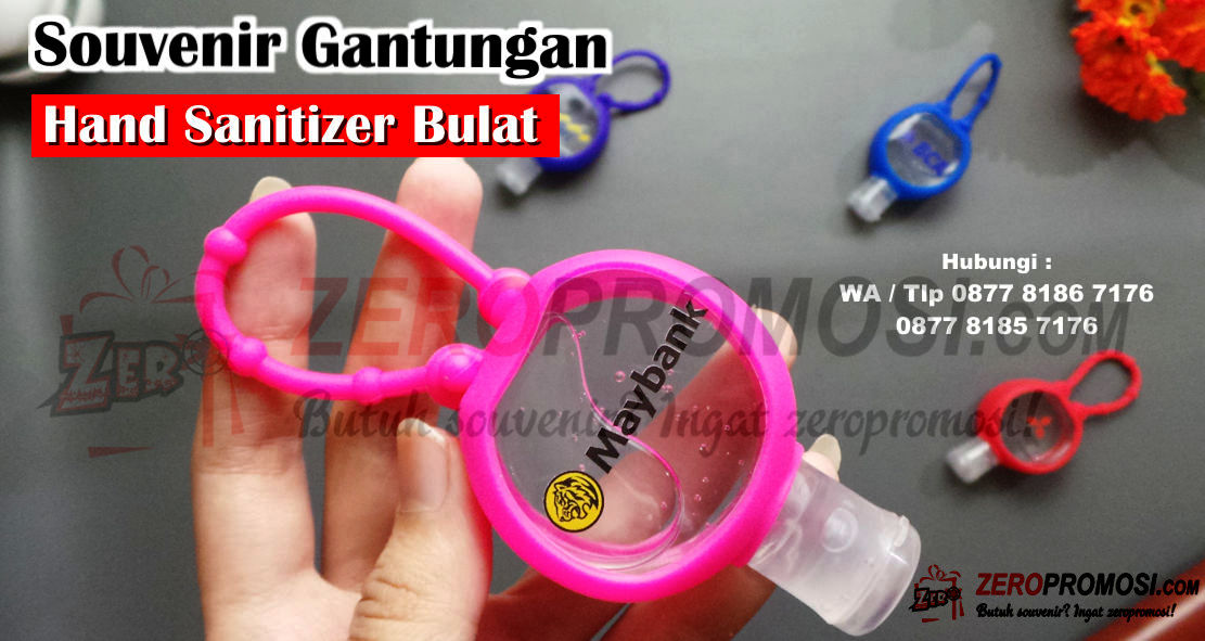 Gantungan Hand Sanitizer 40ml Holder Botol Souvenir Gift, Souvenir Gift Holder Gantungan Karet, Pocket Bac Holder Gantungan Hand Sanitizer Gel