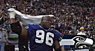 Cortez Kennedy, Seattle Seahawks Defensive Player, NFL