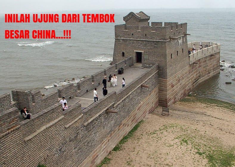 Inilah Potret Objek Wisata Ujung Tembok Besar China