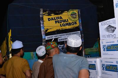 Peduli Gempa Lombok, Santri Dalwa Tunjukkan Solidaritas dan Empati