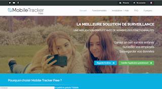 موقع  mobile-tracker-free لمراقبة الهاتف عن بعد