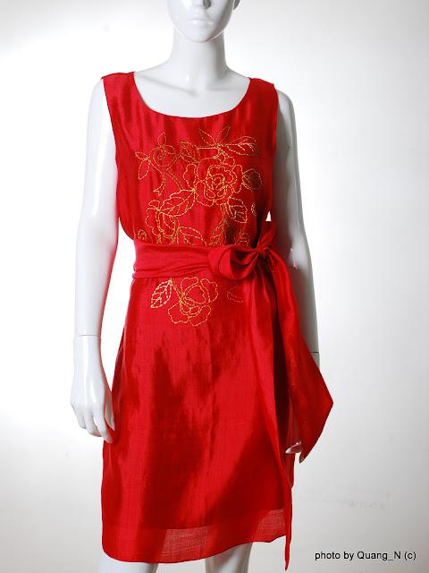hình ảnh Chất liệu vải Tussah Silk