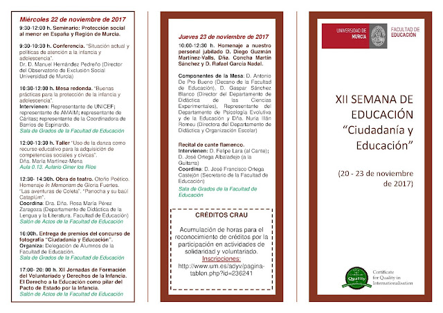XII Semana de Educación.