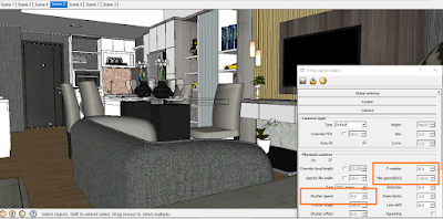 Settingan vray option bagus dan ringan