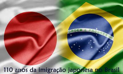 110 anos da imigração japonesa ao Brasil