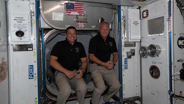 Los astronautas de la NASA ya tienen fecha de regreso a la Tierra en la Crew Dragon de SpaceX