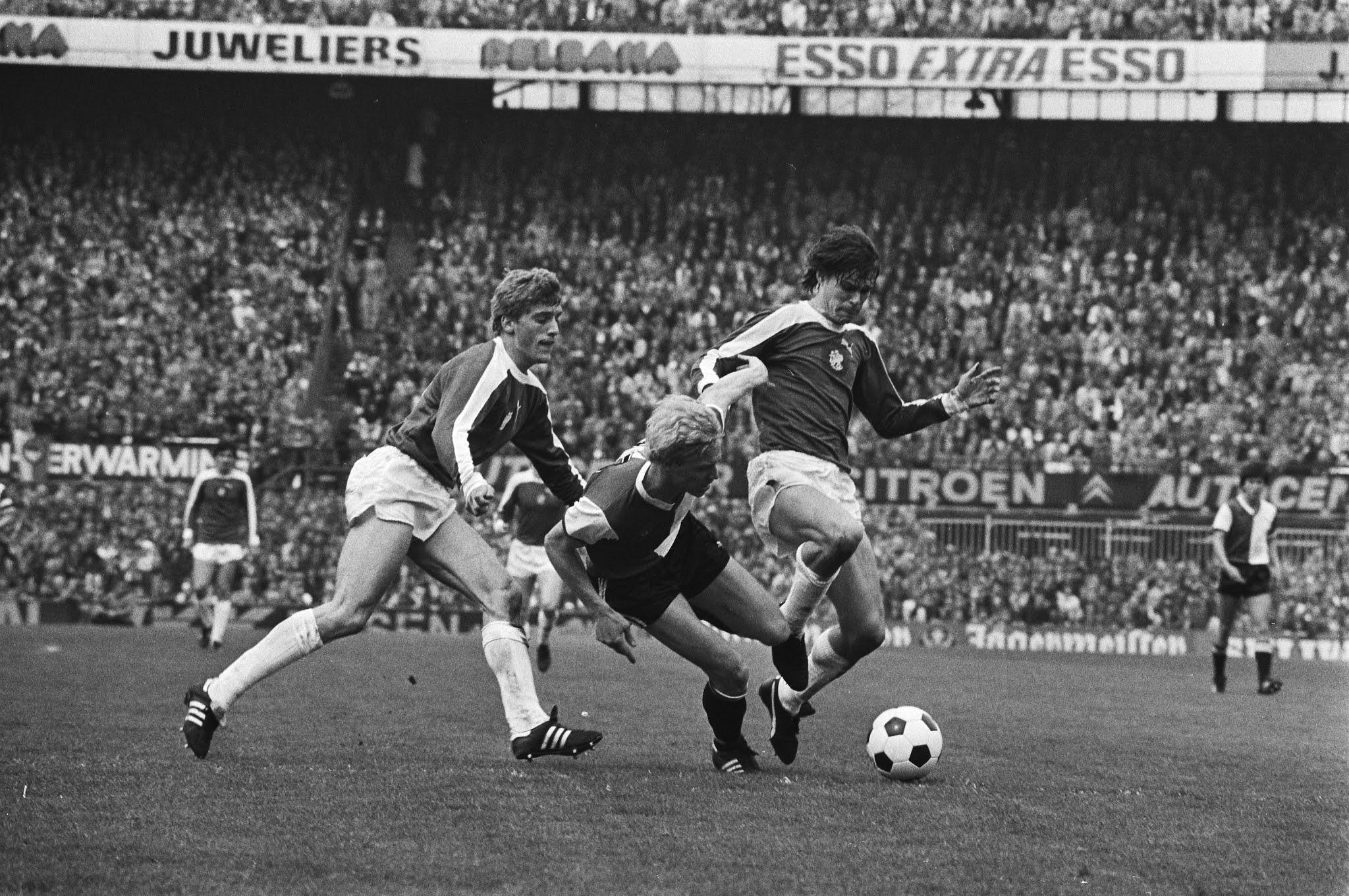 Petur Petursson, Piet Wijnberg en Frank Arnesen