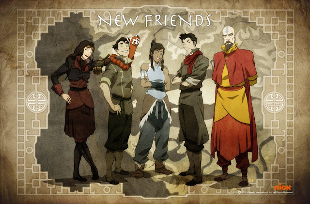 Download Anime Avatar:The Legend Korra S1-S4 Batch Subtitle Indonesia