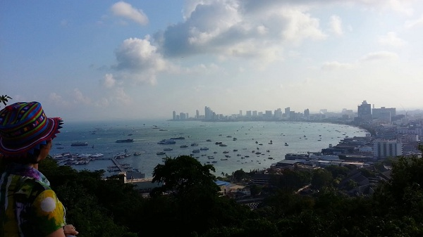 Ngắm nhìn thành phố Pattaya từ Đồi Vọng Cảnh