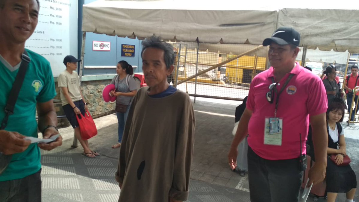 Poor man rescued after attempting to swim from Cebu to Bohol