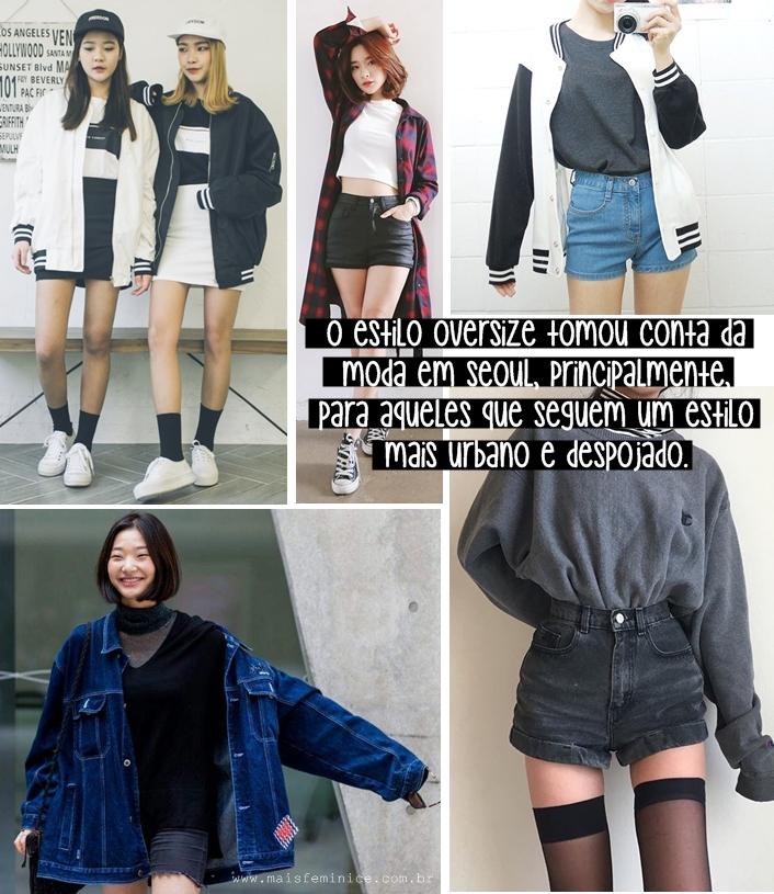 Moda Coreana: Oversized