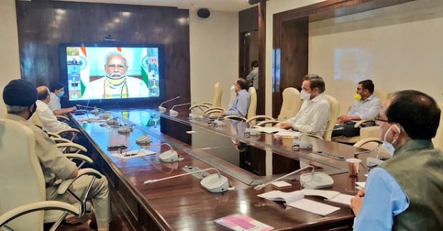The Prime Minister held a meeting on Cyclone Amphan