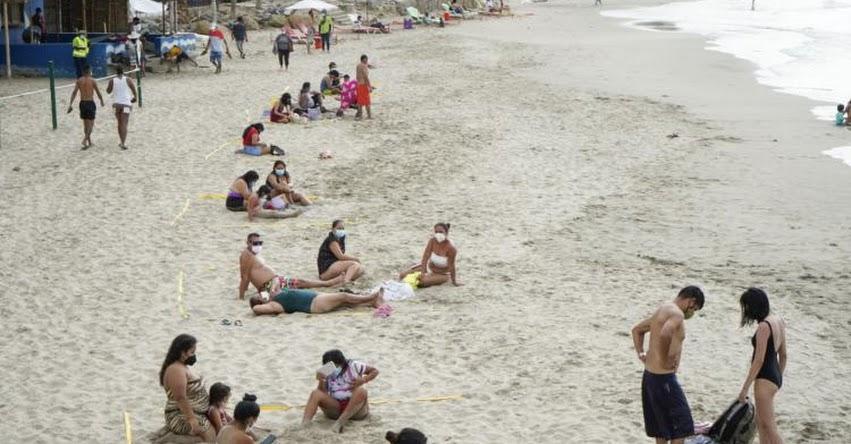 VAMOS A LA PLAYA: Desde el 31 de mayo se podrá acceder a las playas