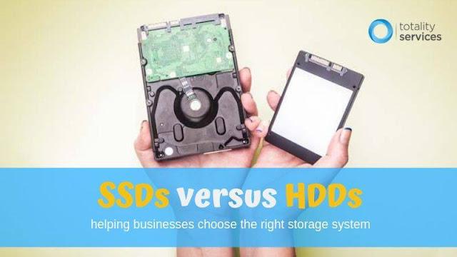 SSD Versus HDD Hard drive