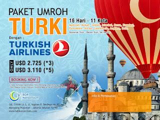 Paket Umroh Plus Turki Desember 2015