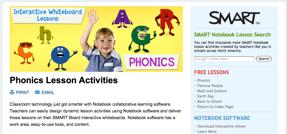 Free Technology for Teachers: SMART Notebook Resources from