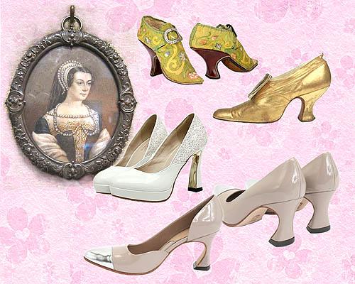 perkembangan sepatu rancangan Catherine
