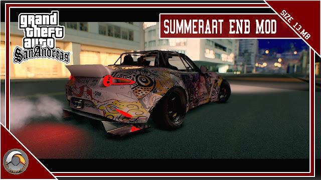 GTA San Andreas SummerArt Enb Mod For Pc