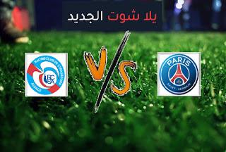 نتيجة مباراة باريس سان جيرمان وستراسبورج اليوم السبت 10-4-2021 الدوري الفرنسي