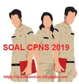 Soal CPNS 2019