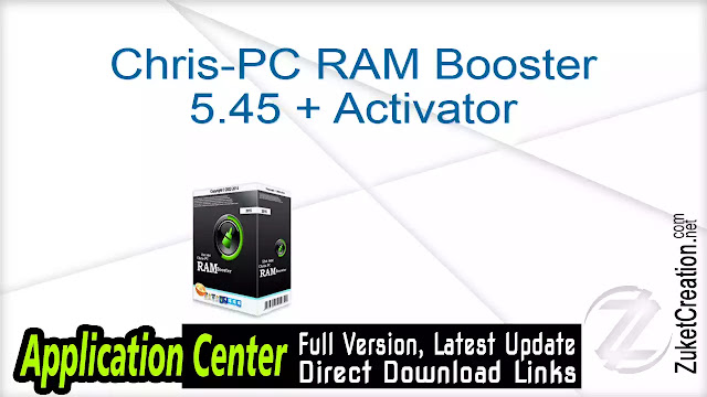Chris-PC RAM Booster 5.45 + Activator