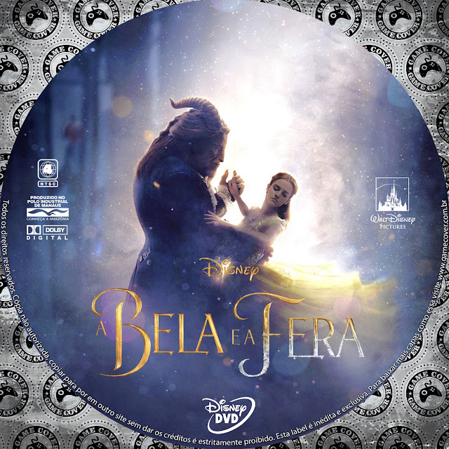 Label DVD A Bela E A Fera [Exclusiva]