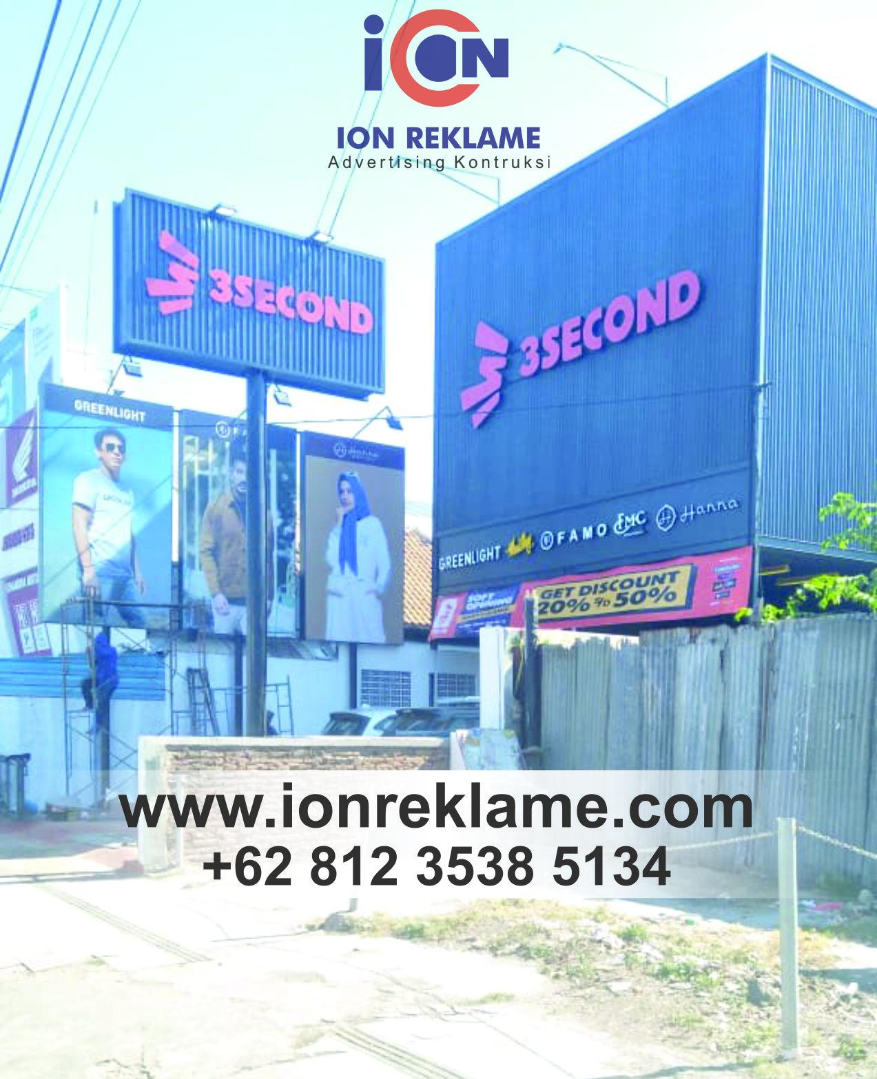 Jasa Pengerjaan Fasade Reklame di Malang - ION REKLAME MALANG