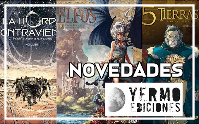 Novedades de Yermo Ediciones para abril 2021