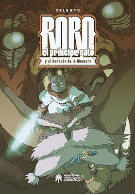LIBRO - Roro el Príncipe Gato y el Corazón de la Montaña (Héroes de Papel - 21 Diciembre 2018) portada