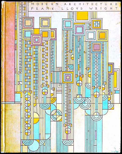 aFrank Lloyd Wright graphic for the bool Modern Architecture