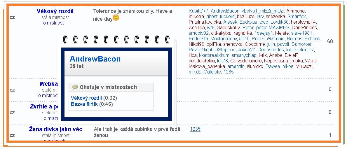 Uživatelská jména na seznamovacích webech