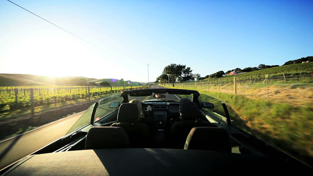 Dirigir em Napa Valley
