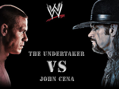 John Cena Vs The Undertaker; Legend Vs Legend