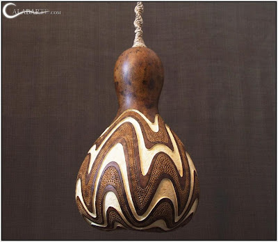 Creative and Cool Gourd Lamps (14) 11