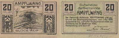 Austria: Billete de 20 heller