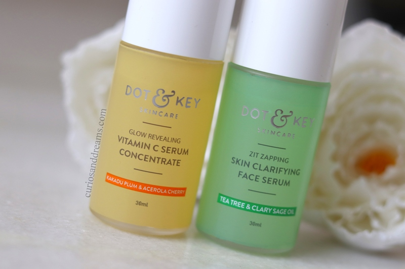Dot & Key Skincare Serum review, Dot & Key Vitamin C serum review, Dot & Key Clarifying serum review